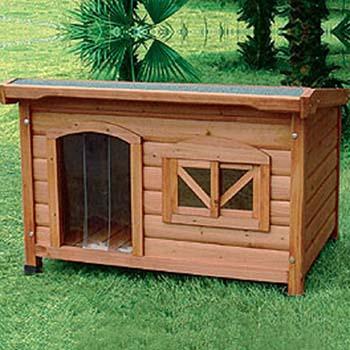 Cucce per cani in legno da esterno